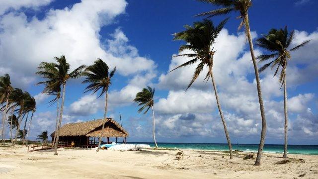 Пляж на Острове Свободы