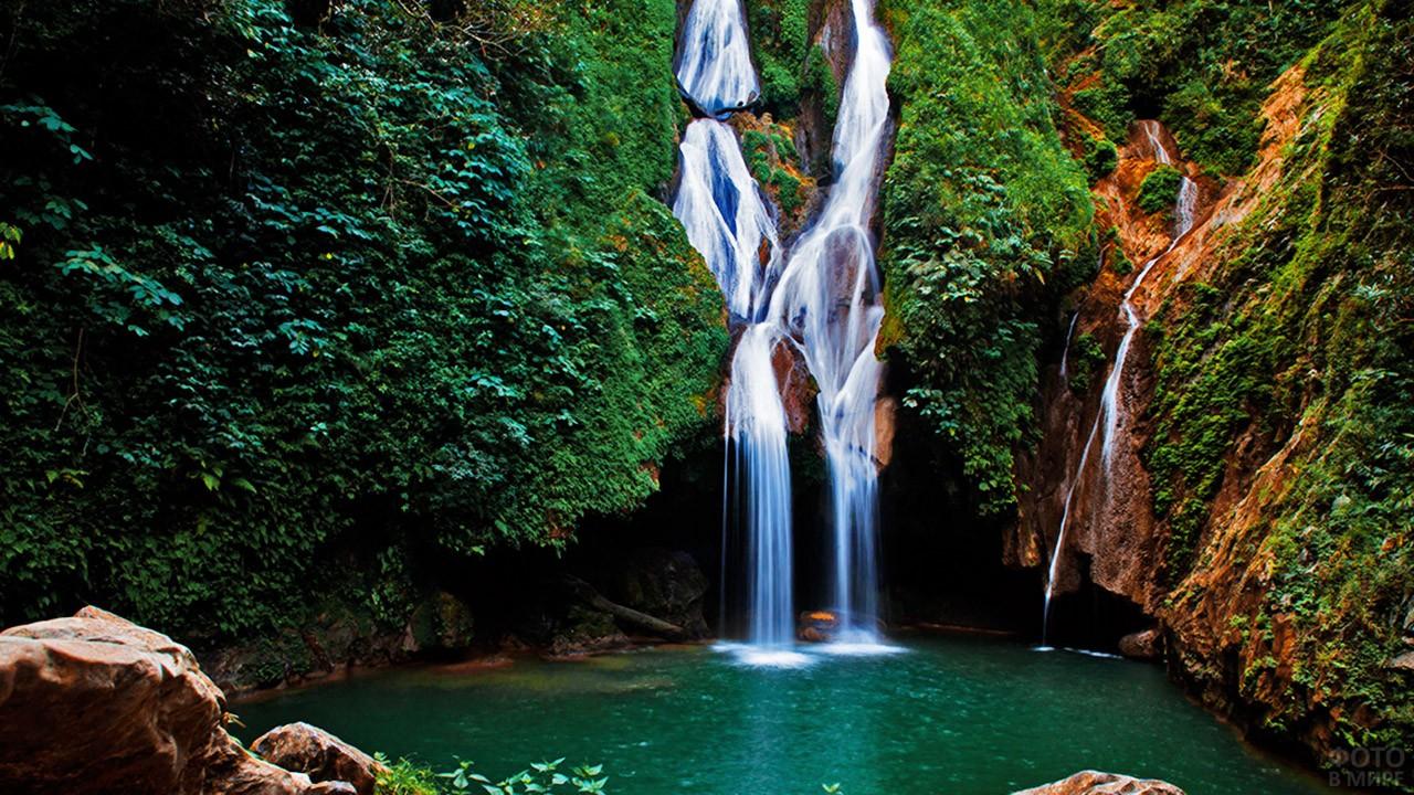 Водопад Кабурни - достопримечательность Кубы
