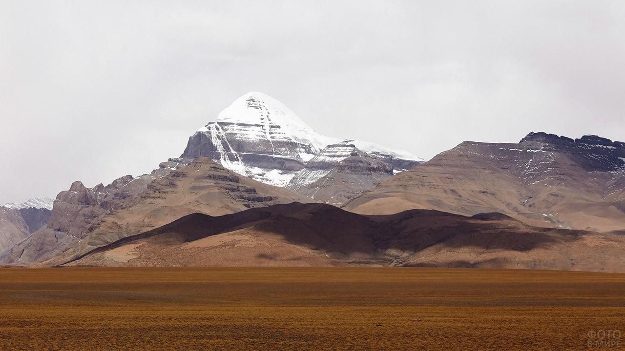 Сердце мира на панораме Тибета