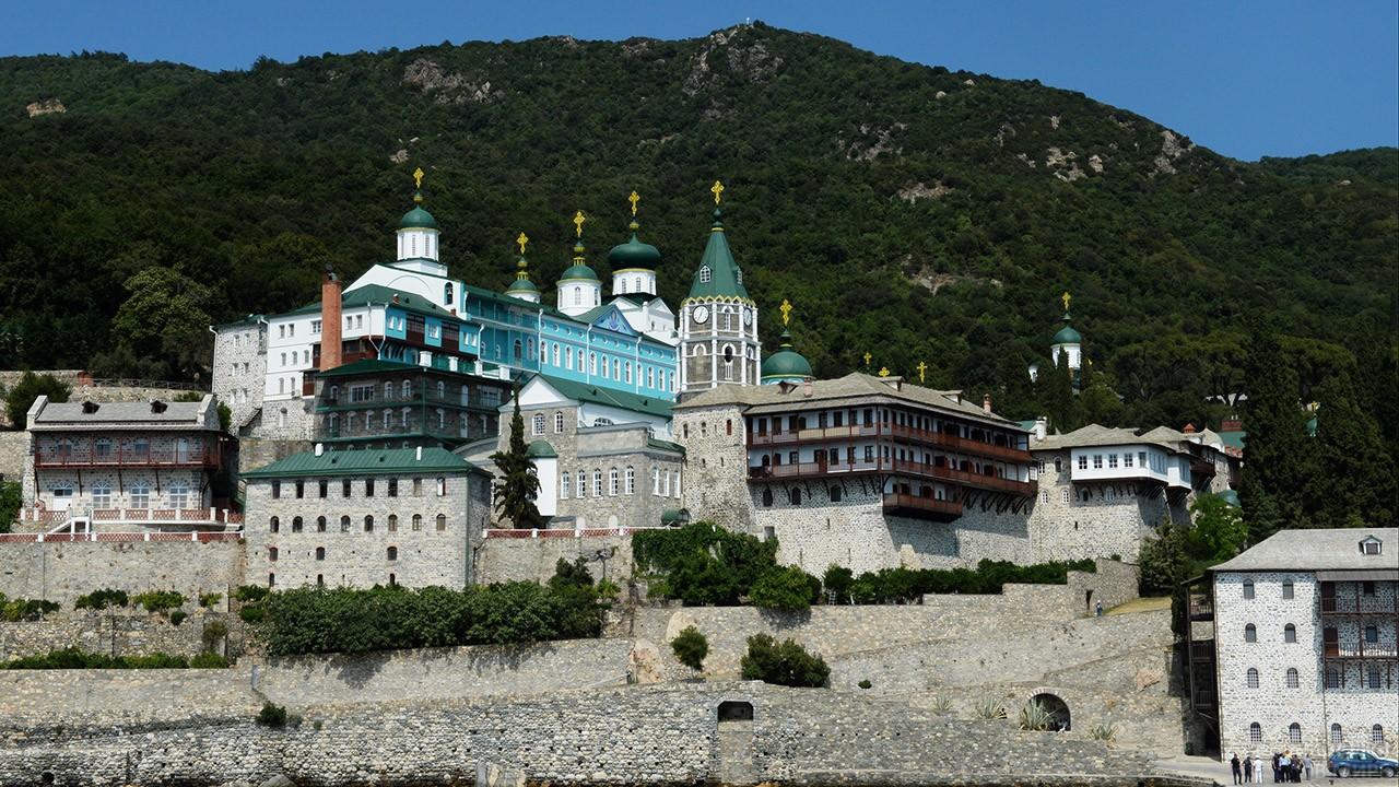 Исконно русский Свято-Пантелеимонов монастырь