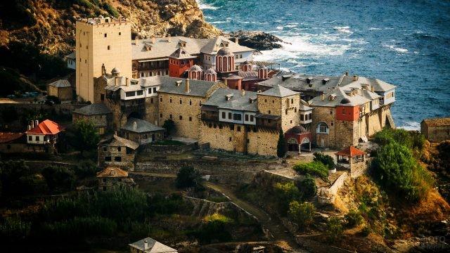 Кафисмы - одиночные поселения близ стен монастыря