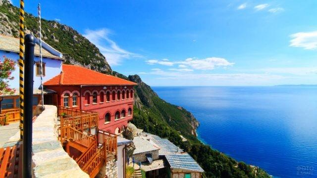 Средиземноморские краски греческого Агио Орос