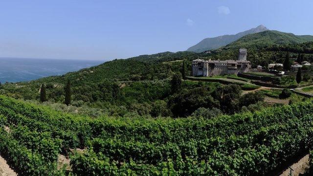 Виноградники монастыря Каракал