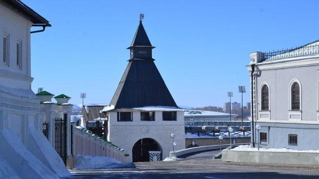 Башня в Казанском Кремле