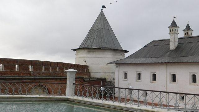 Городская стена Казанского Кремля