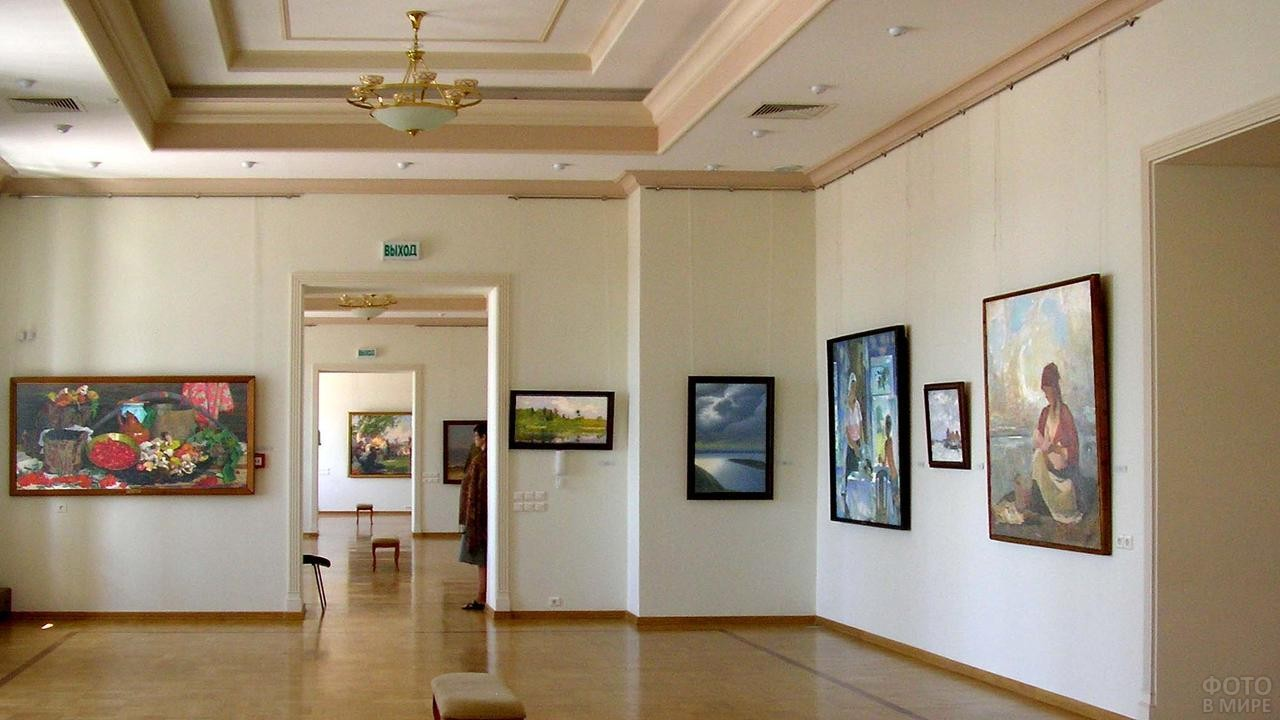 Экспозиции выставочного зала
