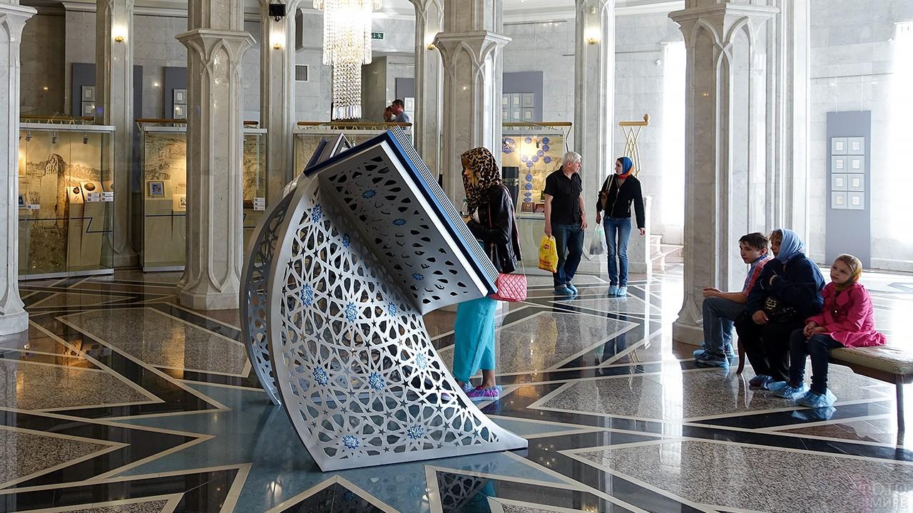 Музей исламской культуры внутри