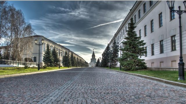 Проезд Я.Шейкмана в Казанском Кремле