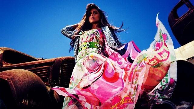 Индийская мода для журнала Вог