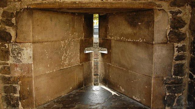 Тюрьма в замке Средневековья
