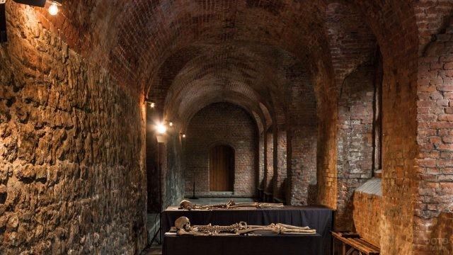 В средневековом подземелье Лондона