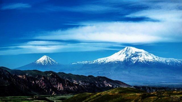 Панорама Араратской долины
