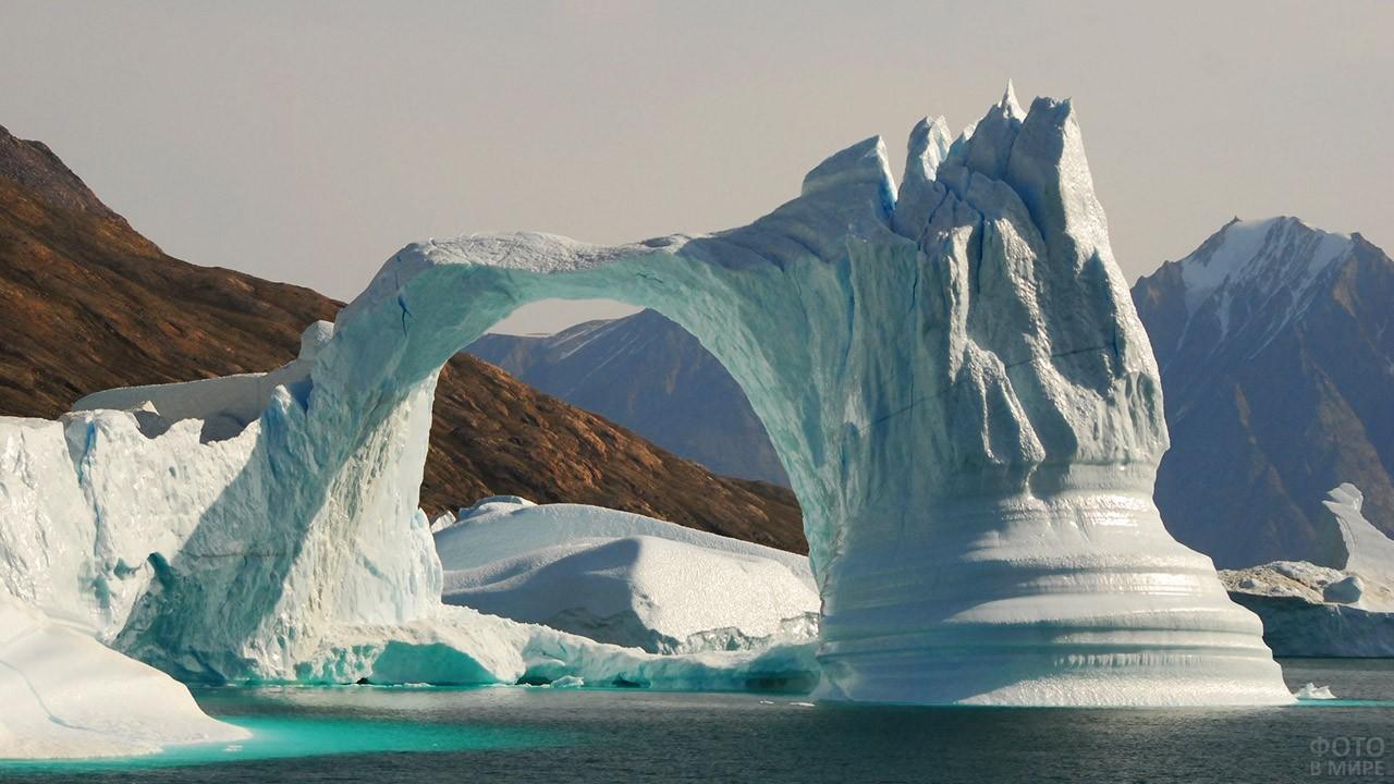 Ледник в море Баффина