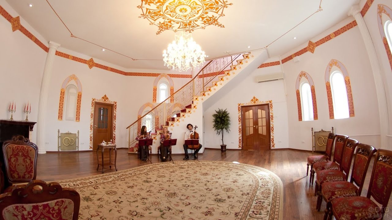 Измайловский Дворец бракосочетаний внутри