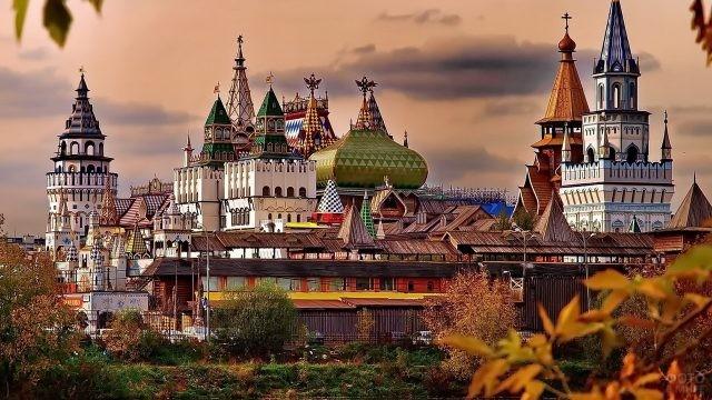 Измайловский Кремль осенью