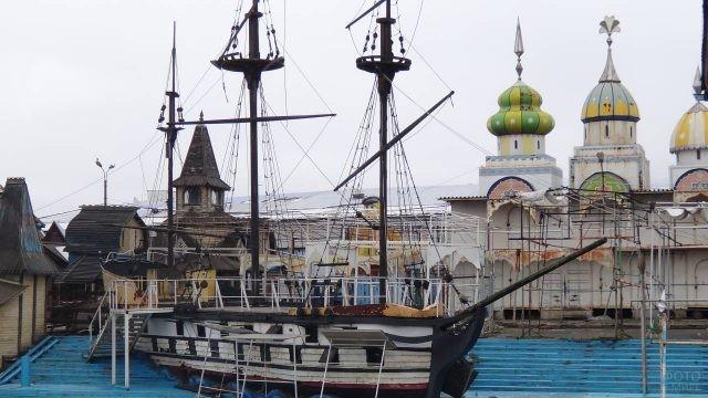 Корабль царя Петра I