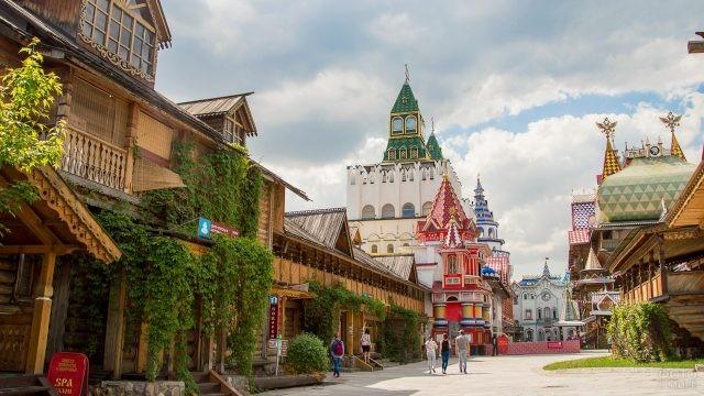 Площадь в Измайловском Кремле