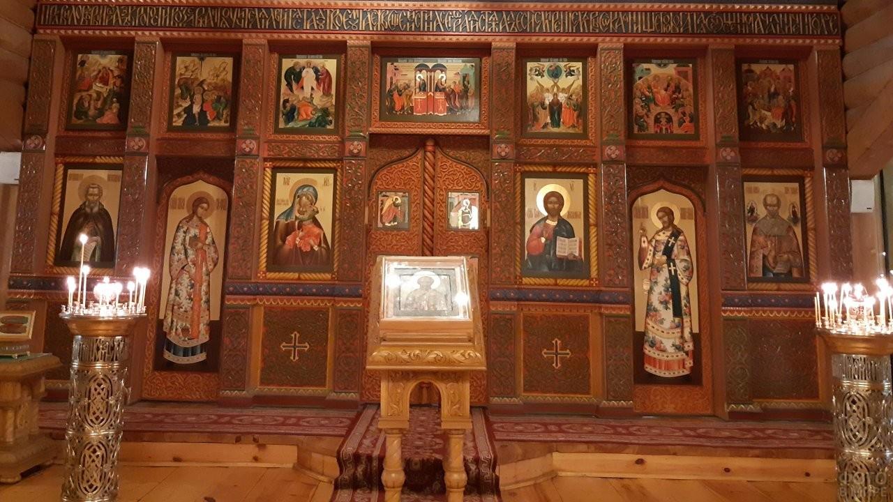 Внутри Храма Святителя Николая