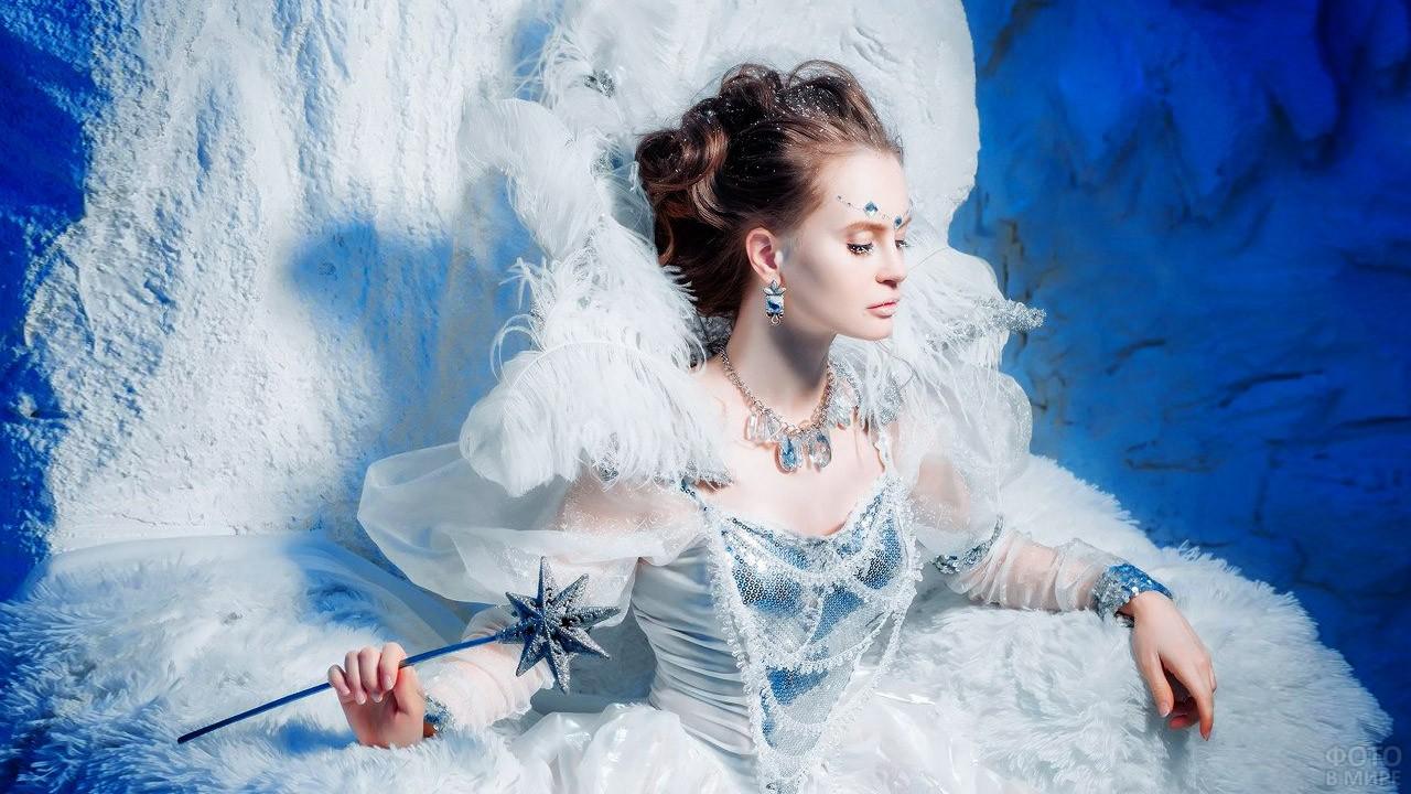 Холодная красавица с волшебной палочкой