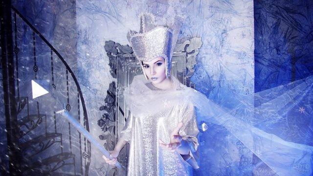 Костюм Снежной королевы по мотивам советского мультфильма