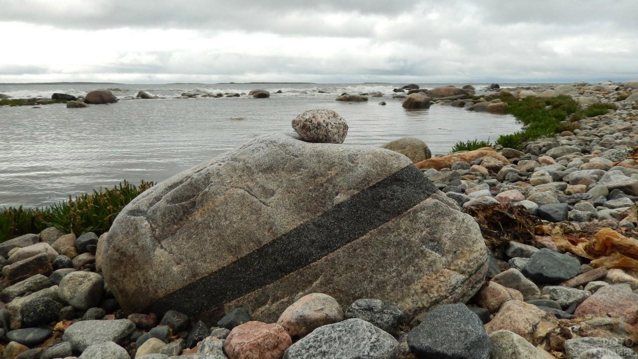 Каменные берега Белого моря