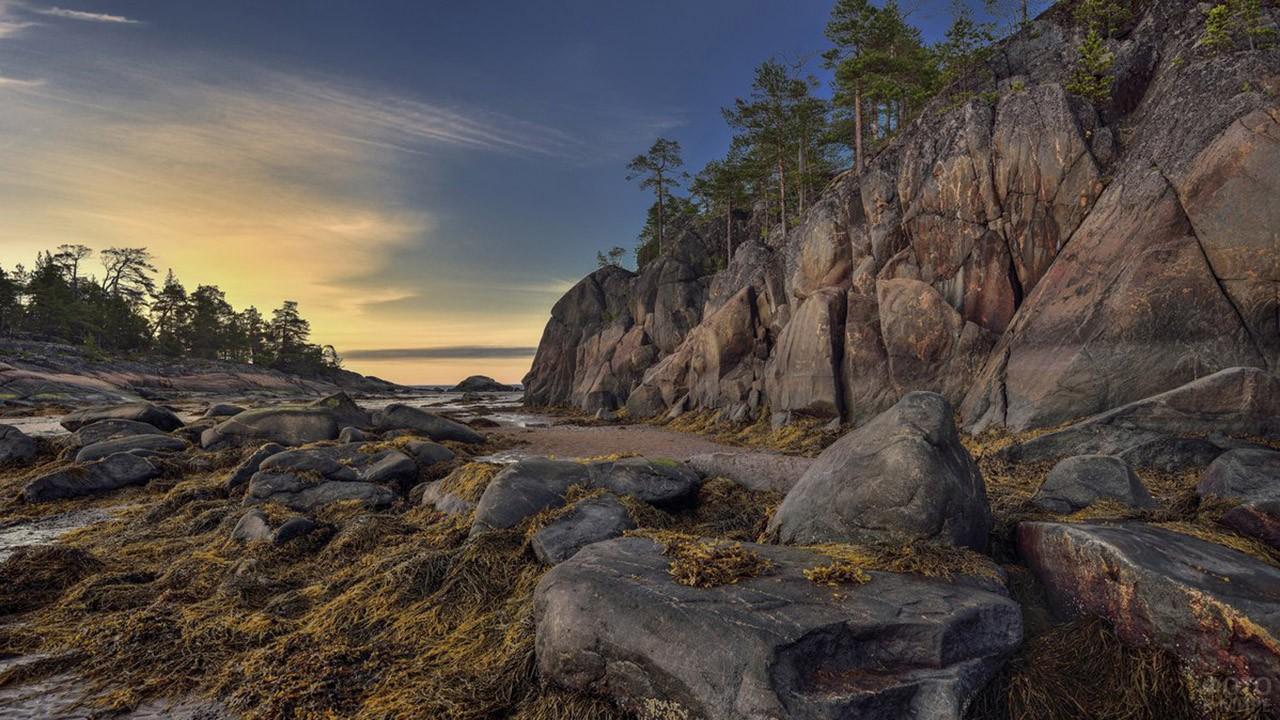 Остров Кий в Онежской губе