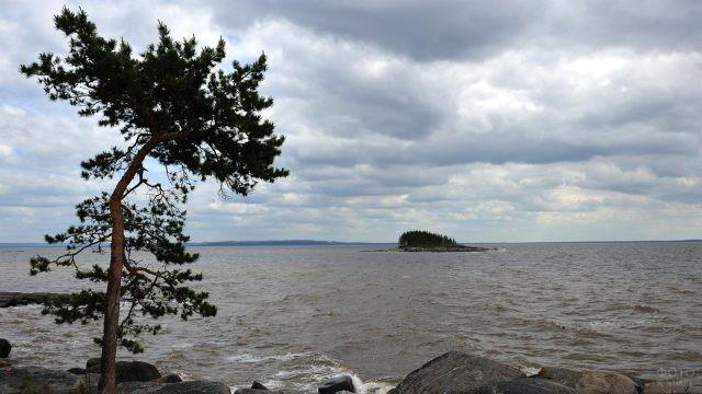 Штормовая погода в Архангельской области