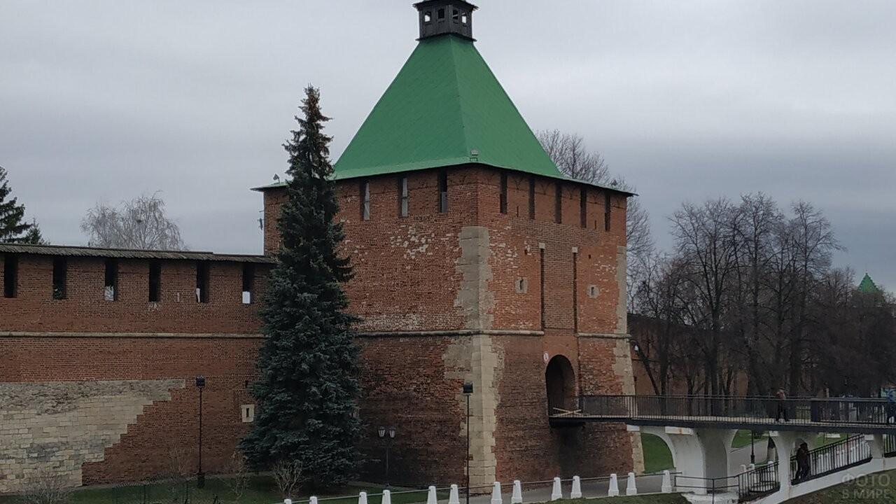 Кремлёвская башня Нижегородского Кремля