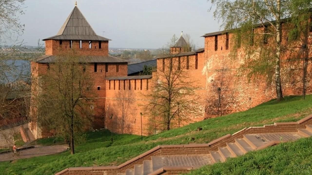 Крепость в Нижнем Новгороде