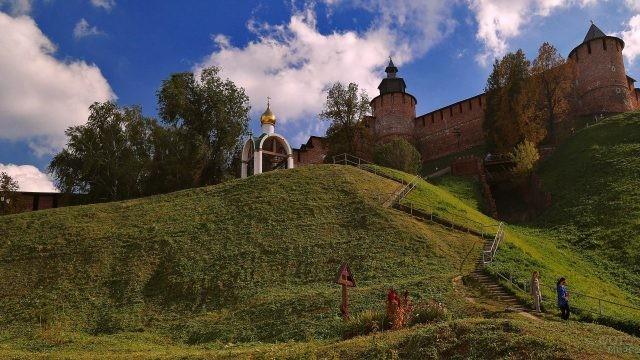 Лестница к Нижегородскому Кремлю