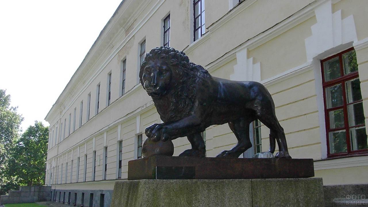 Лев в музее-заповеднике