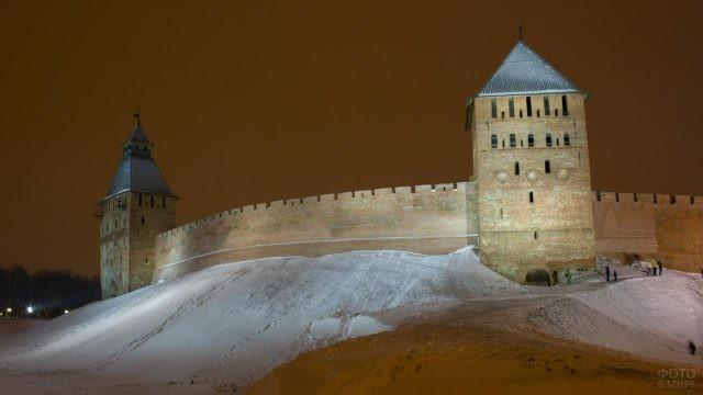 Нижегородский Кремль зимой