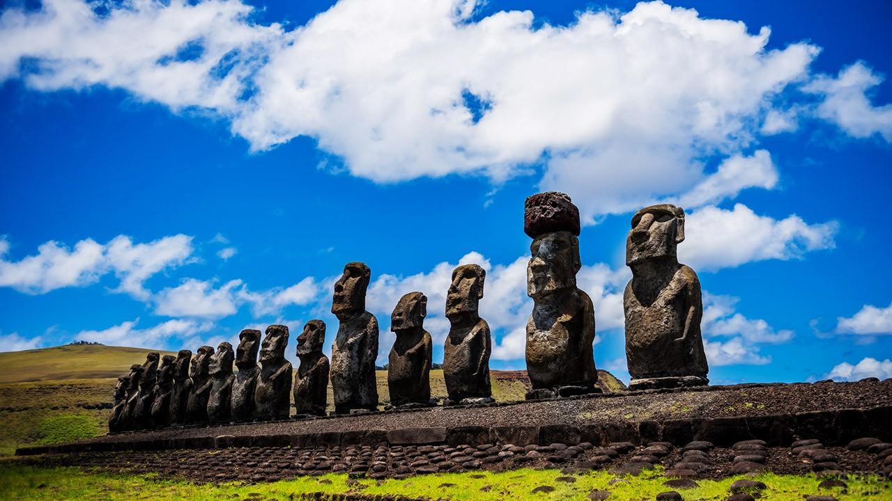 Национальный парк Рапануи - объект Всемирного наследия ЮНЕСКО
