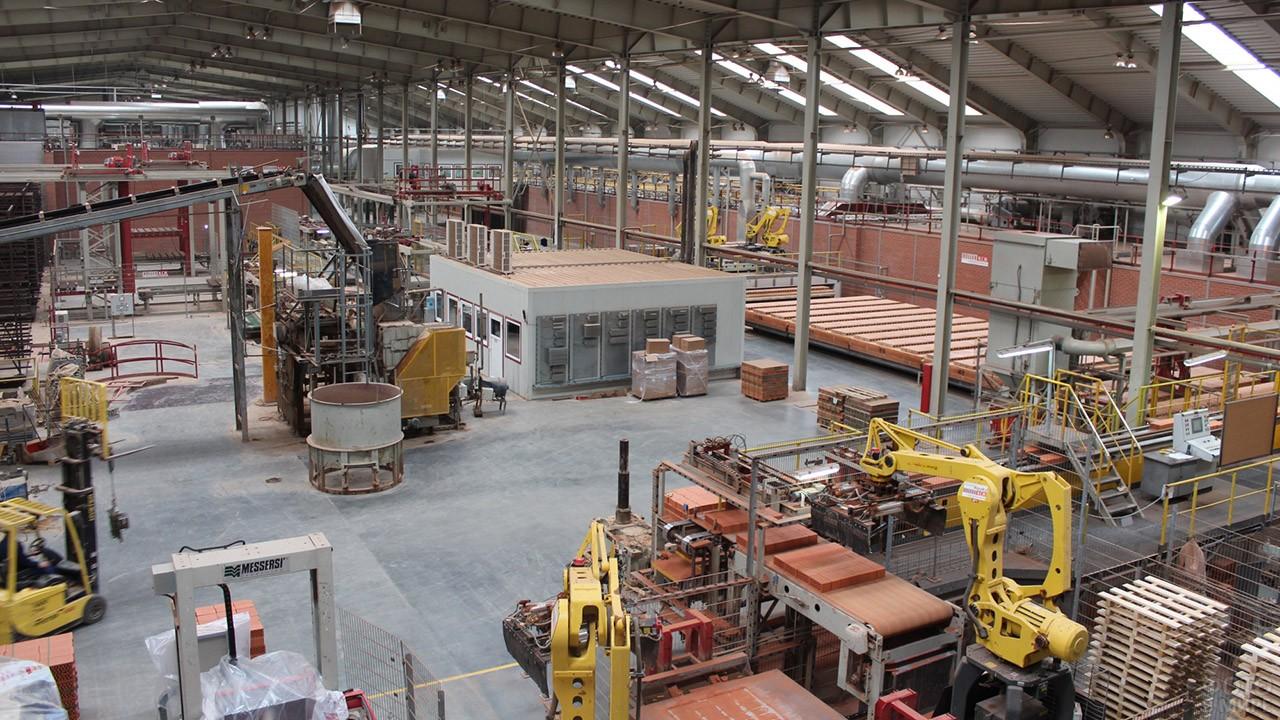 Автоматизированный кирпичный завод в Калининградской области