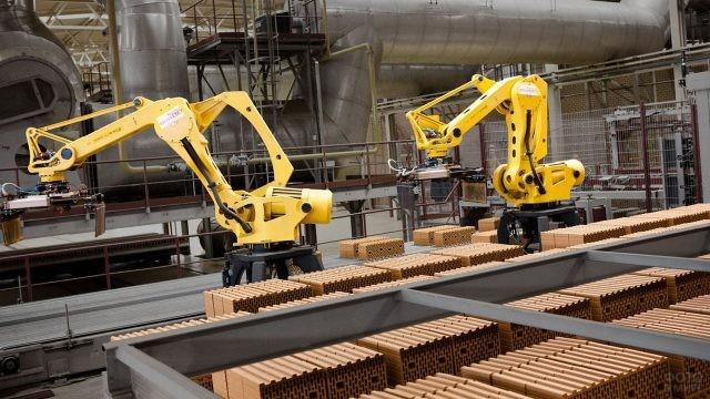 Роботизированный кирпичный завод Браер