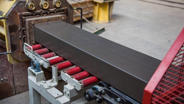 Современная линия производства керамического кирпича