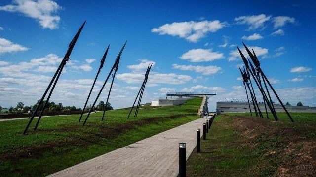 Дорога к музею Куликовской битвы