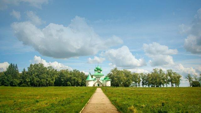Храм Сергия Радонежского на Красной горе