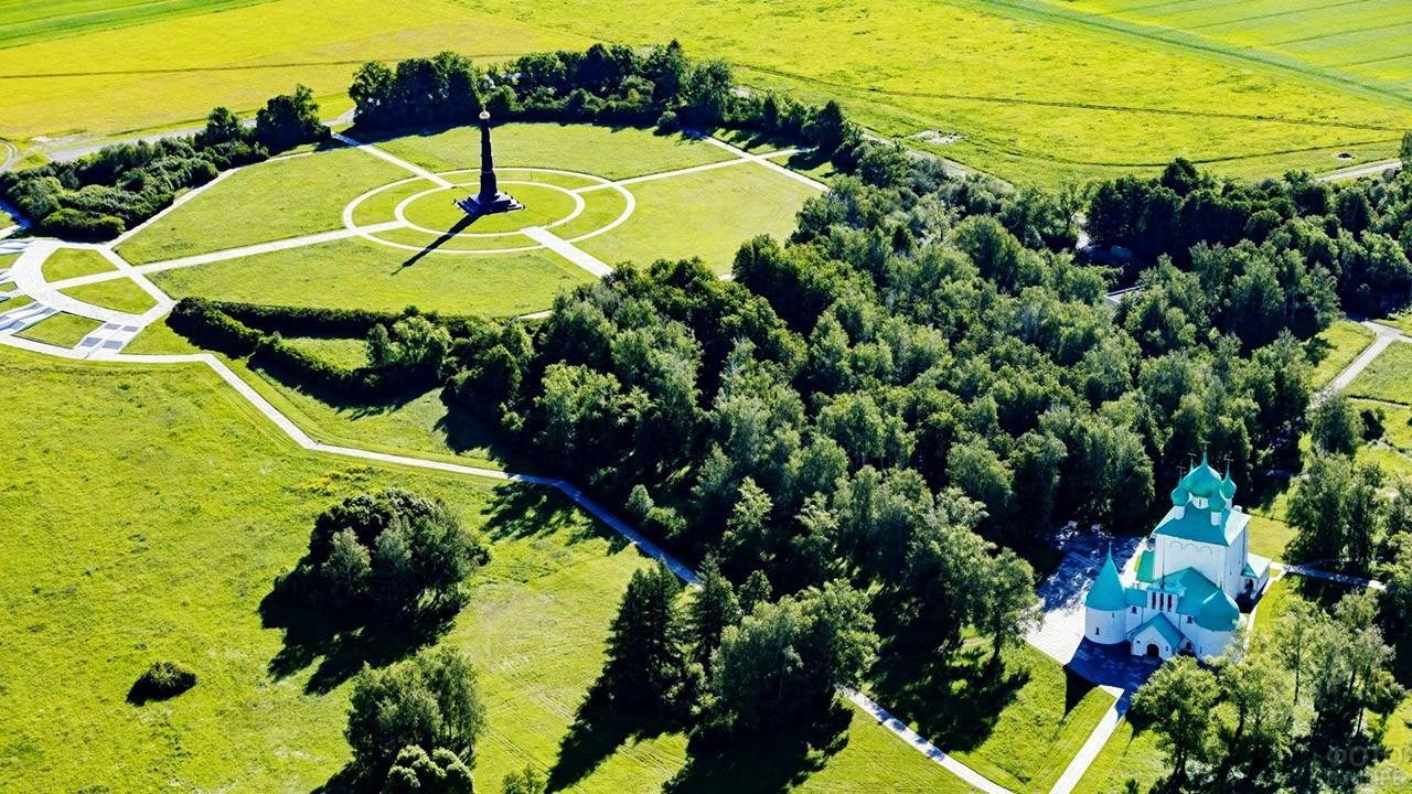 Мемориал и храм-памятник на месте Куликовской битвы