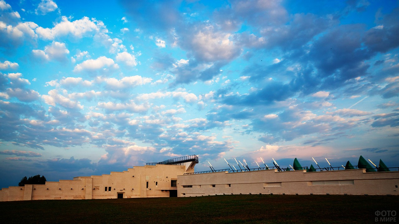 Музей со смотровой площадкой на крыше в Моховом