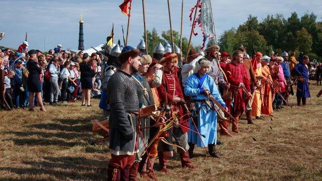 Состязание лучников на Красной горе