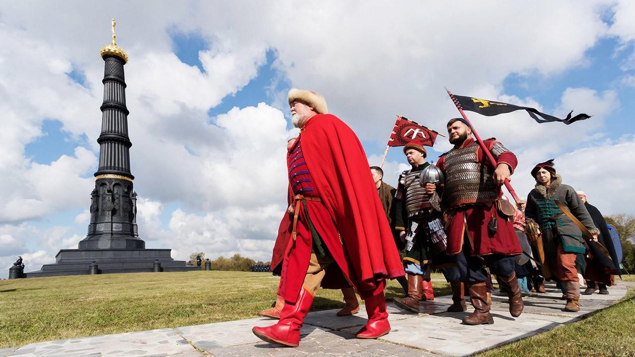 Торжественное празднование победы с реконструкцией Куликовской битвы