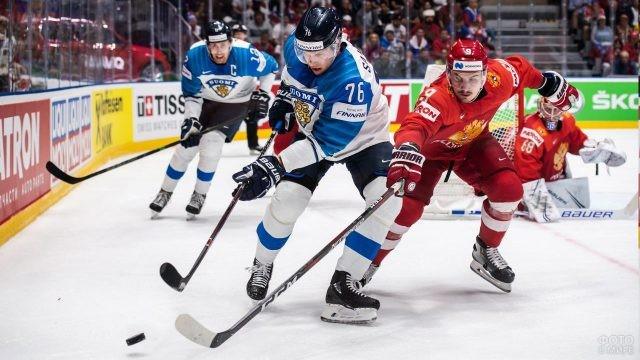 Борьба за воротами Российской сборной