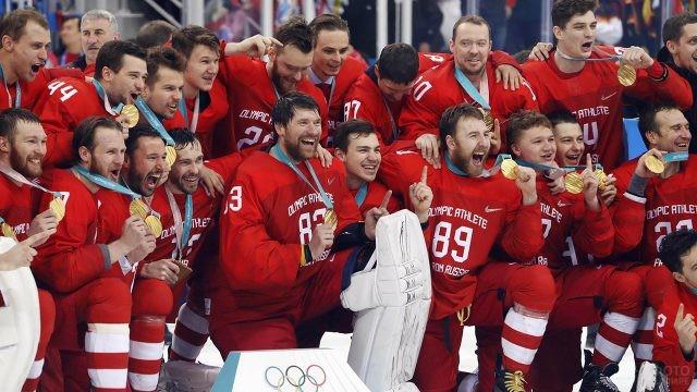 Красная машина на Олимпиаде-2018