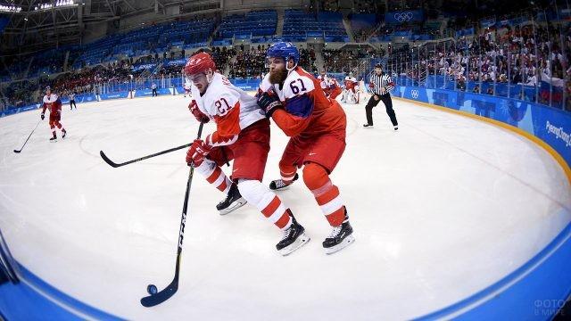 Матч Россия - Чехия на Олимпиаде-2018