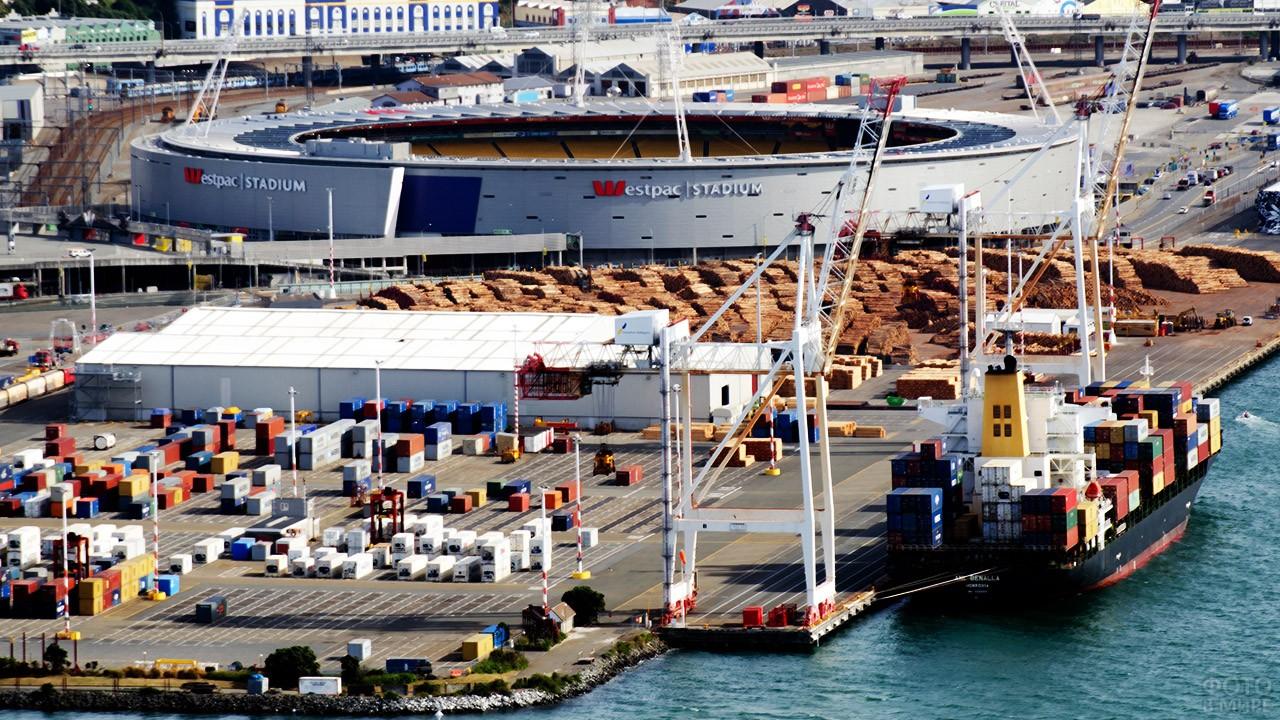 Международный порт в Веллингтоне