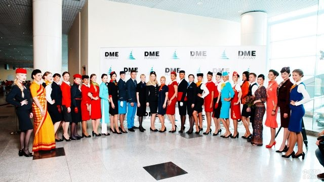 Участники показа мод DME Runway