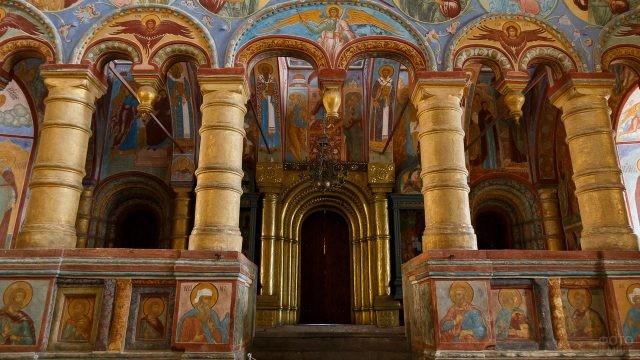 Роспись церкви Спаса