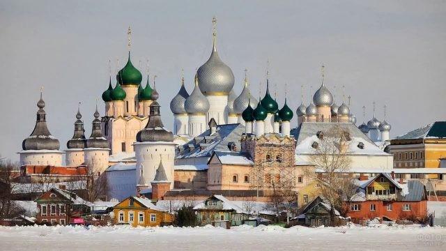Ростовский Кремль зимой