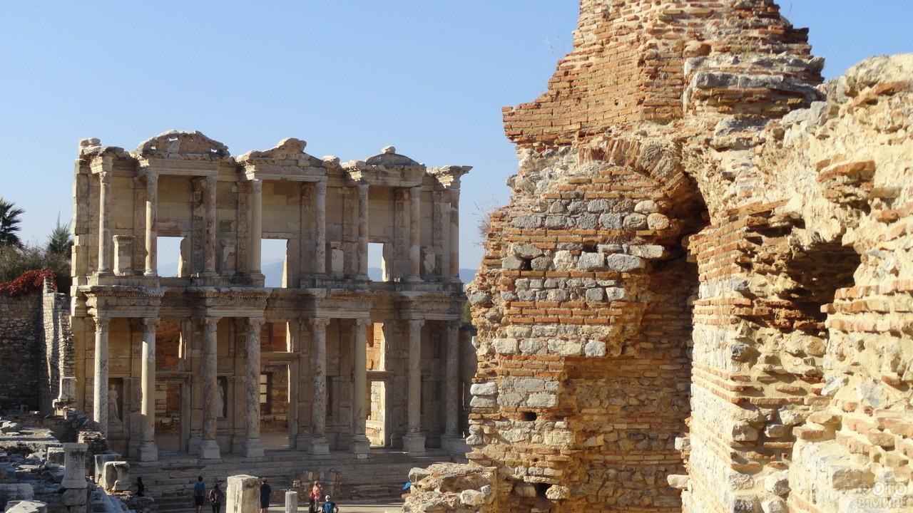 Развалины древнего города